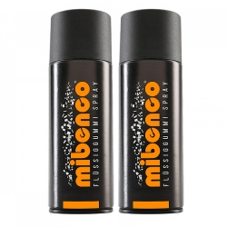 1x400ml Orange Matt