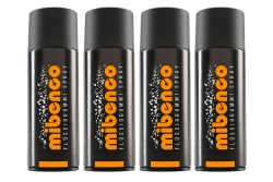 2x400ml Orange Matt