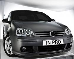 In.Pro. Scheinwerfer VW Golf V  06-08 mit LED schwarz