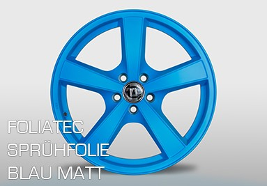 Foliatec Blau Matt